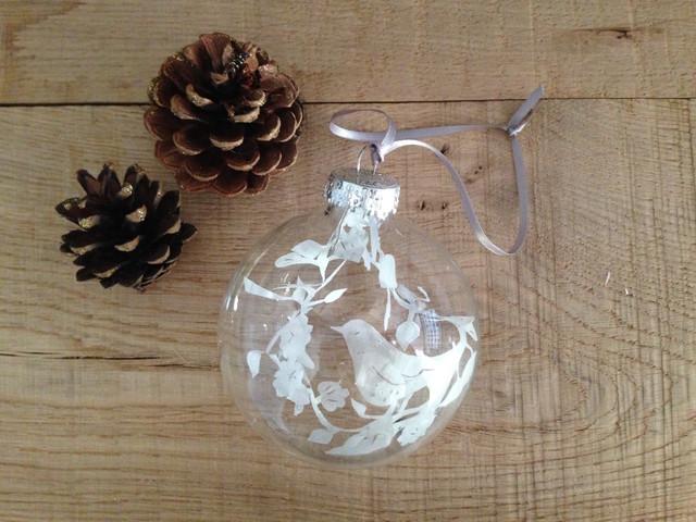 Christmas Paper cut Baubles