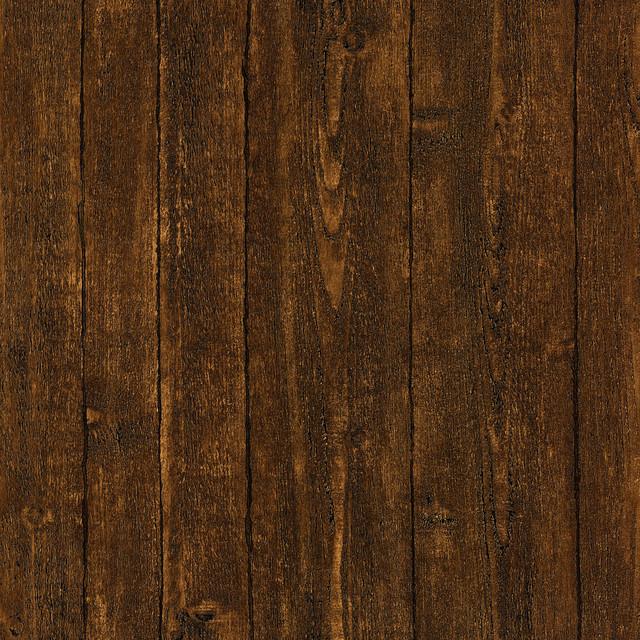 Timber Dark Brown Wood Panel Wallpaper Bolt Rustic