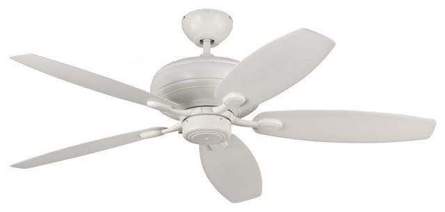 "Monte Carlo Fan Centro Max 52"" Transitional Ceiling Fan."