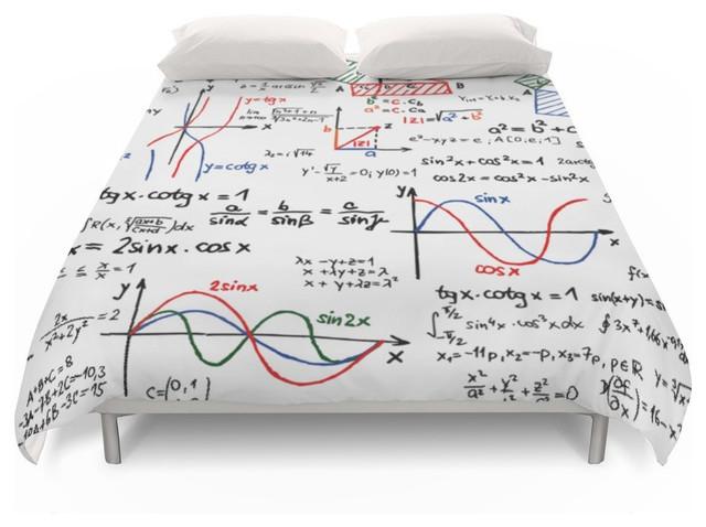 Duvet Cos.Math Cheat Sheet Duvet Cover Queen