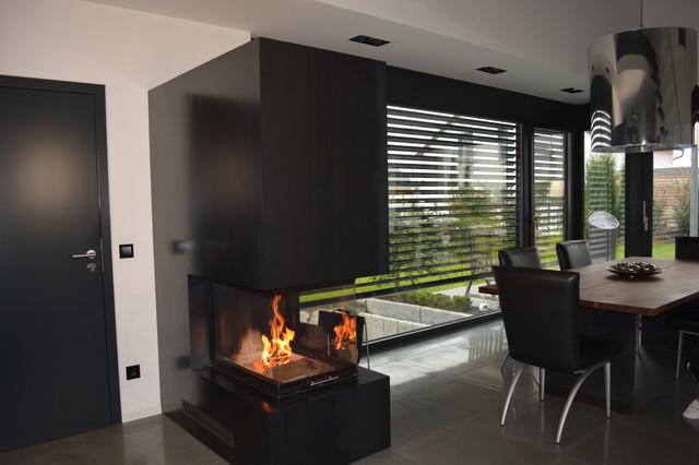 heizkamin ge lte stahlverkleidung stuttgart von thomas. Black Bedroom Furniture Sets. Home Design Ideas