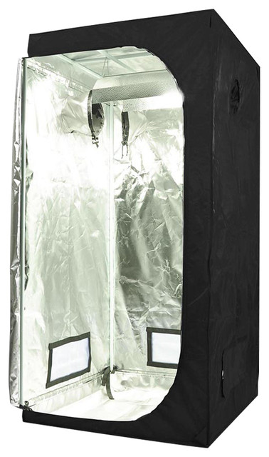 100% Reflective Mylar Hydroponics Grow Tent Non-Toxic Room Hut.