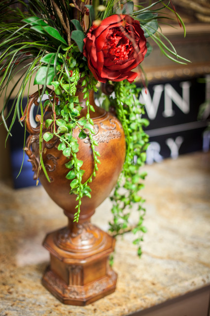 Faux Greenery Arrangements