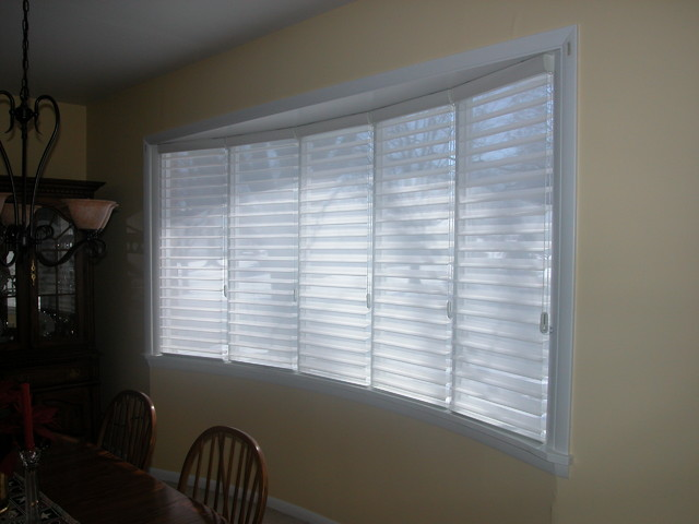 Bow Window Philadelphia By Blinds Designs