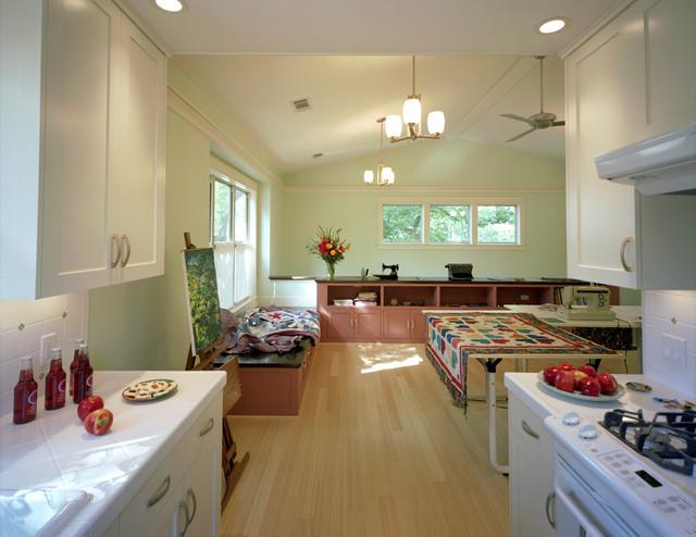 Houzz On Interior Garage Apartments Garage Apartment Studio Space