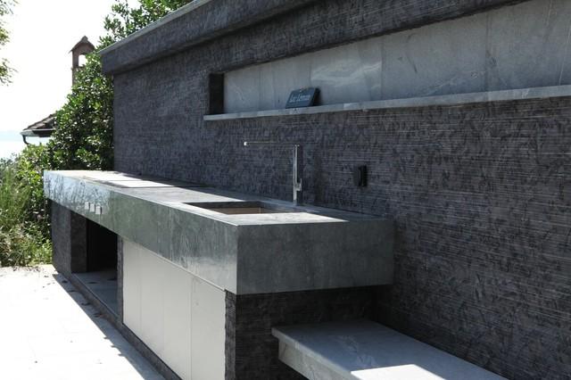 Aménagement extérieur moderne - Moderne - Jardin - Lyon - par CAPRI
