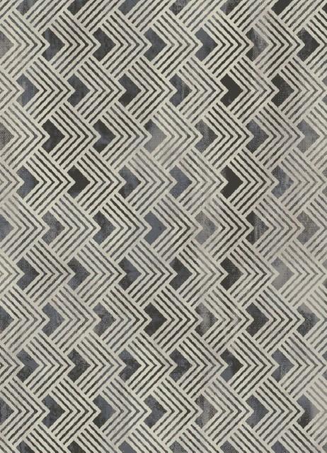 Nickel Gray Rug, 7&x27;10x9&x27;10.