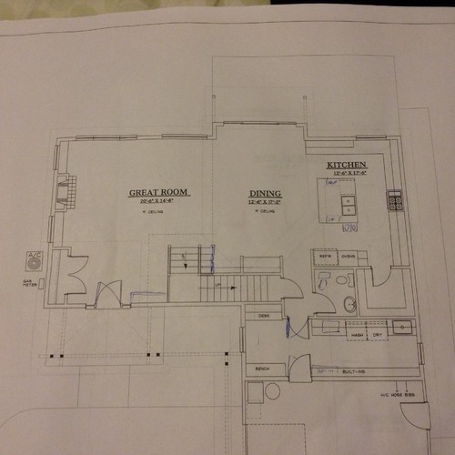 Floor Plan Critique L Shape House