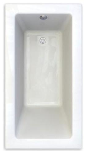 "American Standard Studio 60""x32"" Soaking Tub, Arctic White."