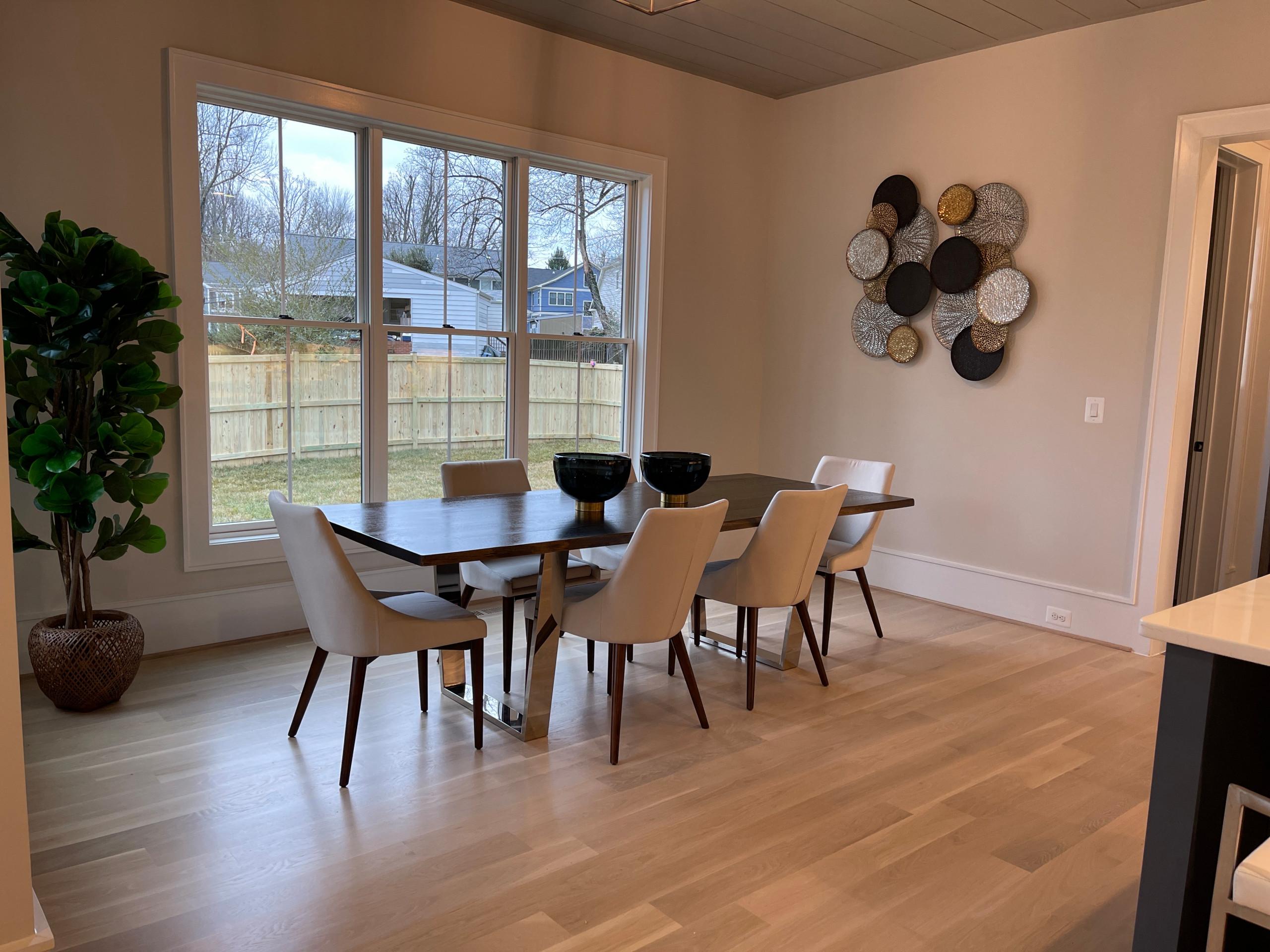 New Construction Dining Room