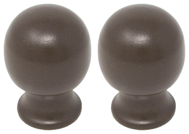 Urbanest Bola Lamp Finial 1 1 4 Diameter Contemporary Decorative Objects And Figurines By Urbanest Living