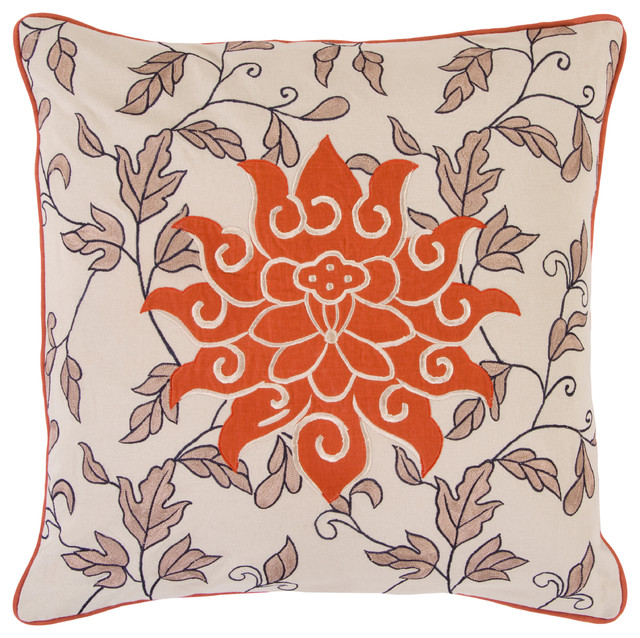 Surya Pillow Kit Nougat 40 X 40 Accent Pillow Contemporary Extraordinary Starburst Decorative Pillow
