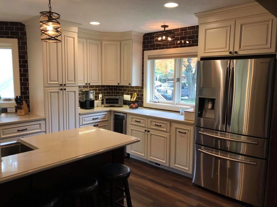 Two-Toned Kitchen