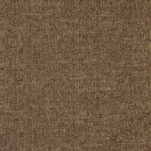 Mocha Brown Textured Solid Woven Jacquard Upholstery