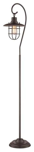 Metal Lantern Floor Lamp.