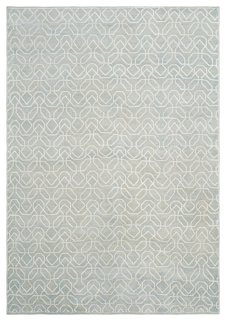 Vanessa Hand-Knotted Wool Rug, 9&x27;x12&x27;.
