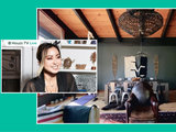 Peek Inside a Designer's Cozy and Stylish Cabin Retreat (one photo)
