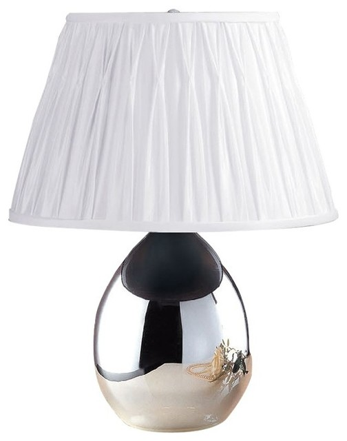 Laura Ashley USA Laura Ashley BTP410 Tierney Mirrored Table Lamp ...:Laura Ashley BTP410 Tierney Mirrored Table Lamp Base contemporary-lamp-bases,Lighting