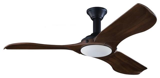 Monte Carlo Minimalist 56 Ceiling Fan, Matte Black.