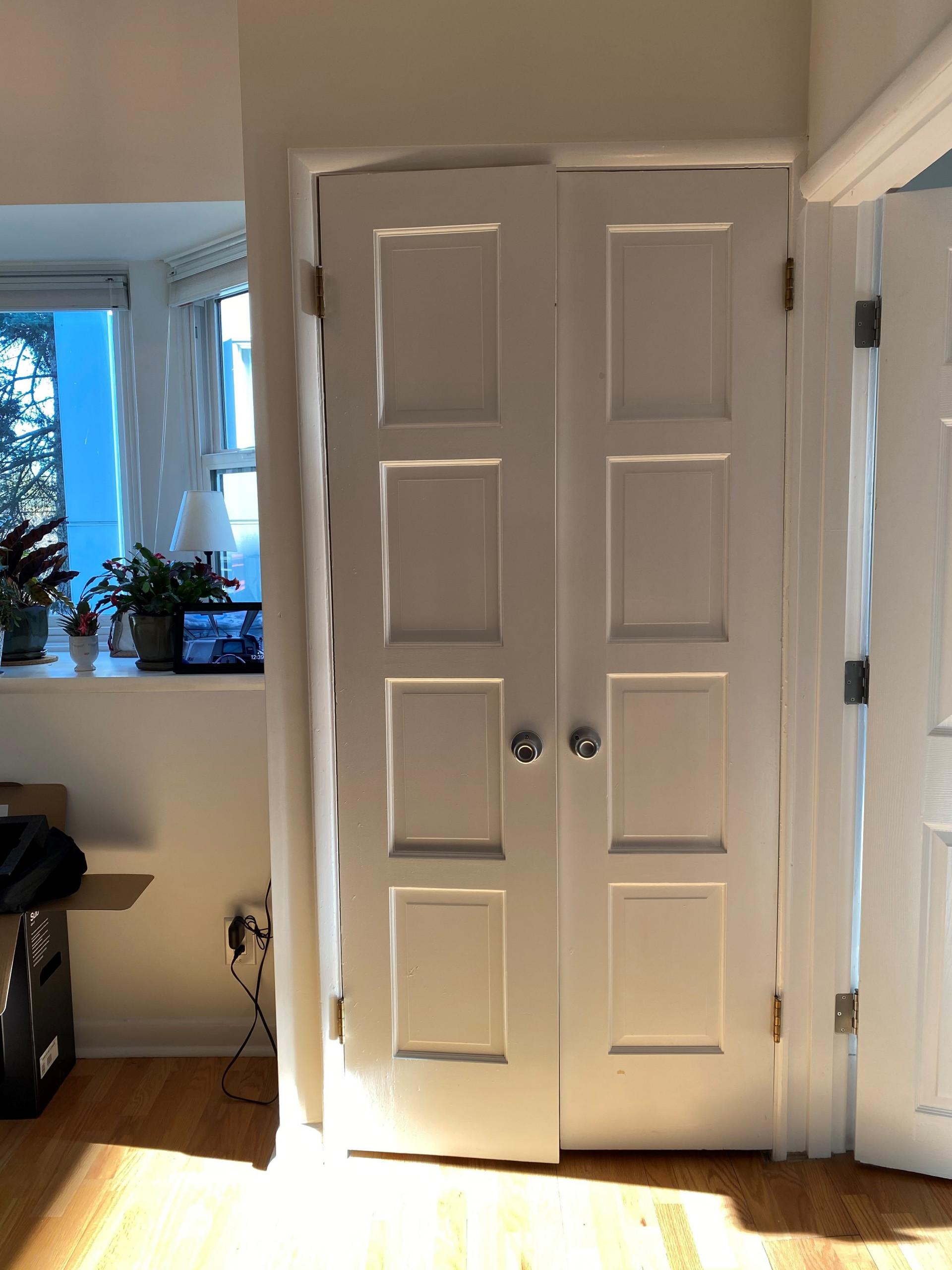 coat closet conversion