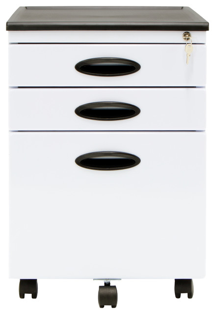 Holden File Cabinet, White.