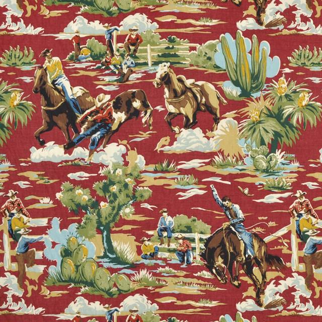 Braemore Ride em Cowboy Chili Fabric