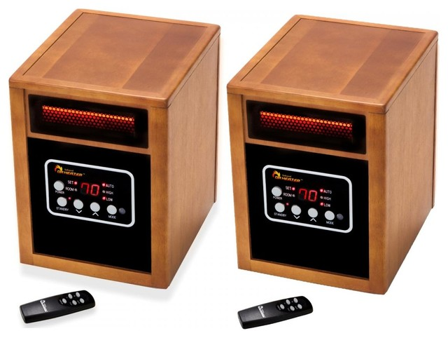 Dr. Infrared Heater Combo Pack, Quartz And Ptc Dual Heating System, 1500w.
