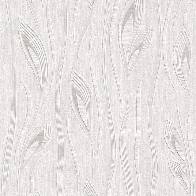 Bathroom before and after 4 - White Leaf Wallpaper Wallpaper By Walls Republic