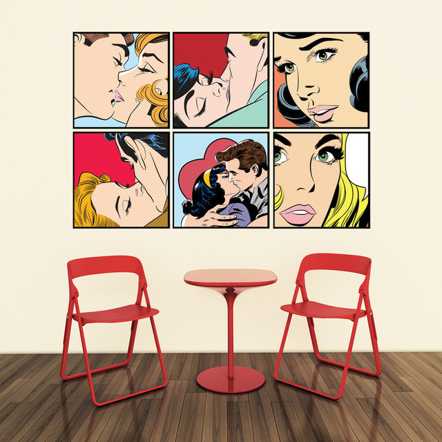 Spectacular Contemporary Wall Decals by WallsNeedLove