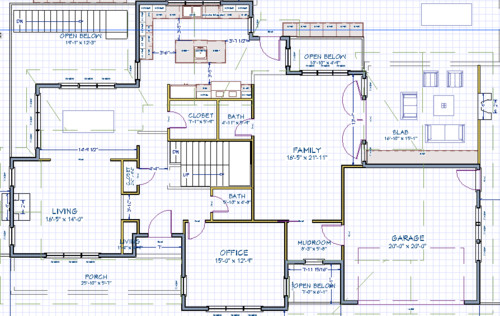 this is the ground floor plan