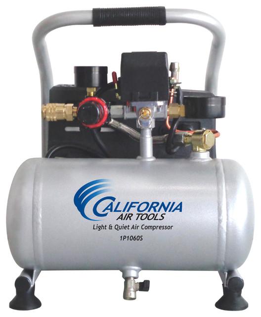 California Air Tools 1p1060s Light Amp Quiet 0 6 Hp 1 0 Gal