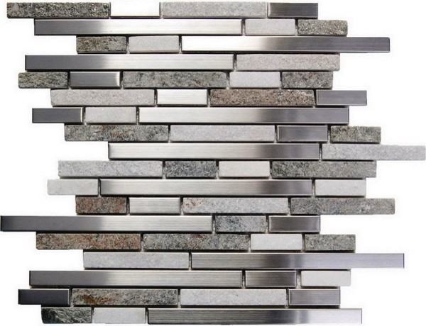 Oddysey Tundra Interlocking Blend Tile Contemporary