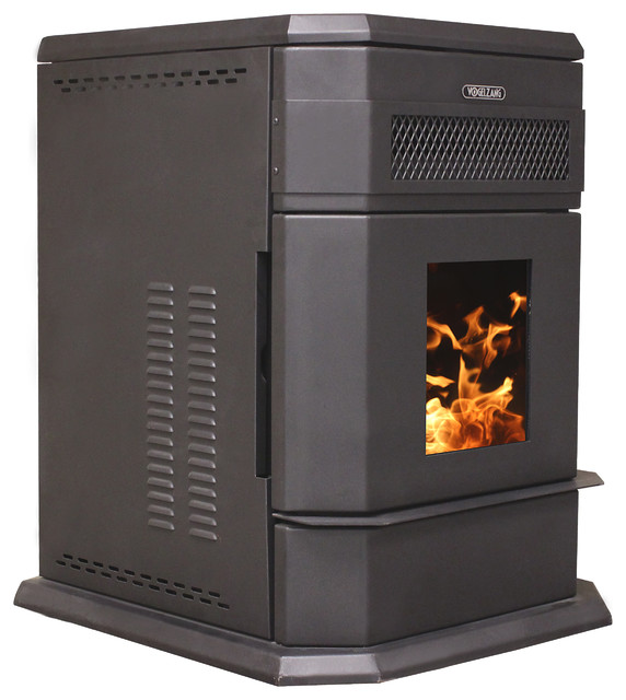 Large Hopper Pellet Stove