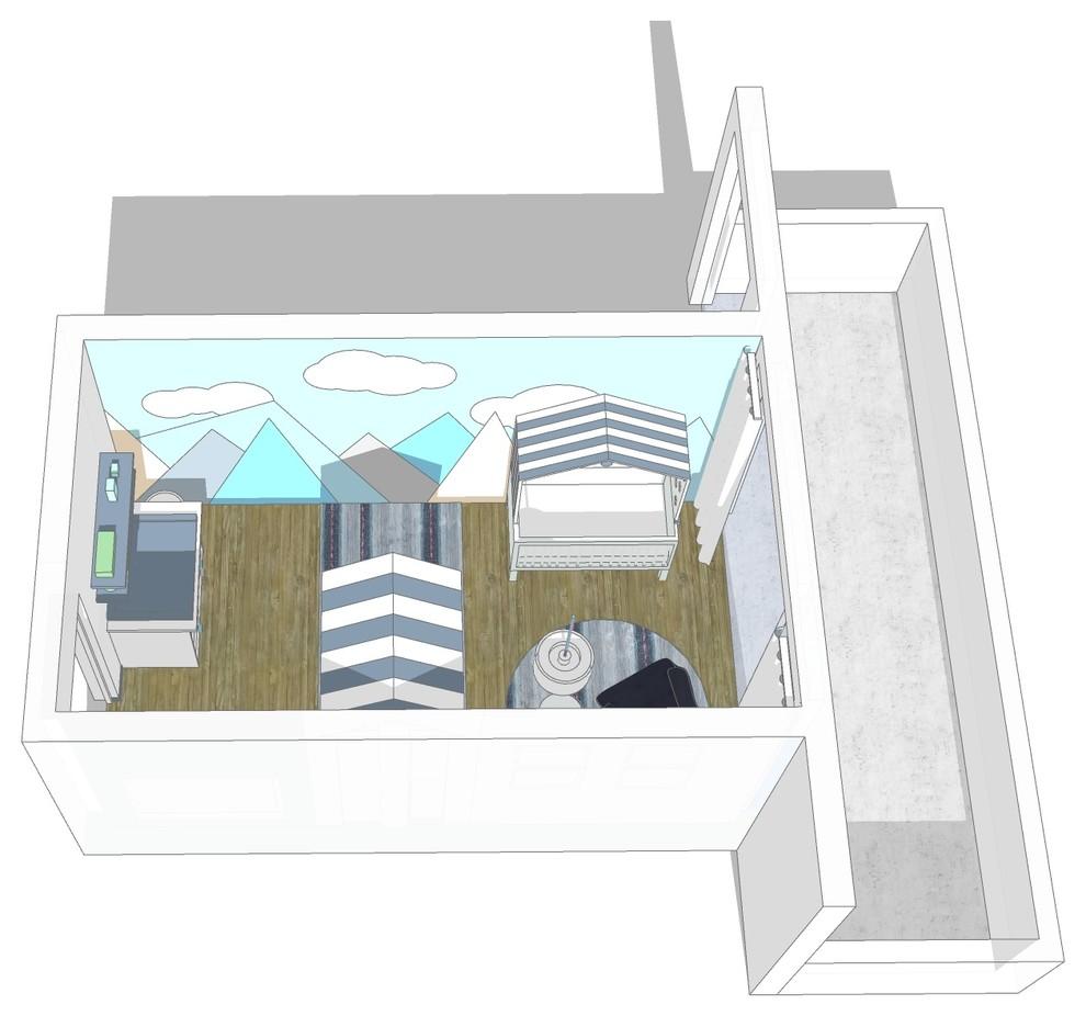 Visualisierung Babyzimmer Bild III