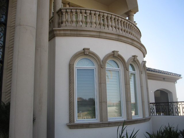 Precast Architectural Trim and Accents - Mediterranean - Los ...