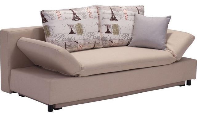 Zuo Serenity Sleeper Sofa Beige Sofas by Home