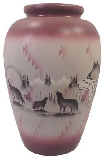 Native American Ceramic Floor Vase Vases By Chairish