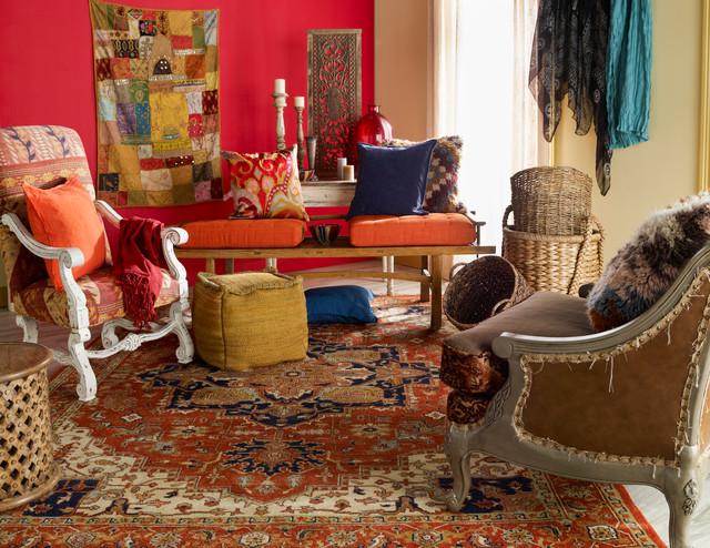 Surya Zeus Rug Zeu 7805 Eclectic Living Room