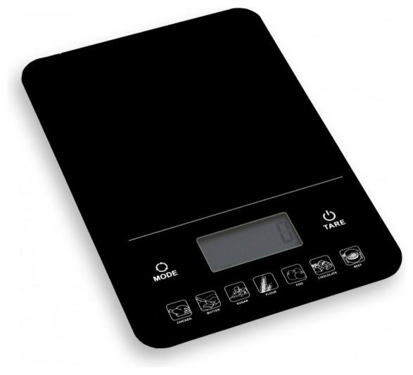 Brilliant Digital Kitchen Nutrition Scale Calories Weight Calculator Black