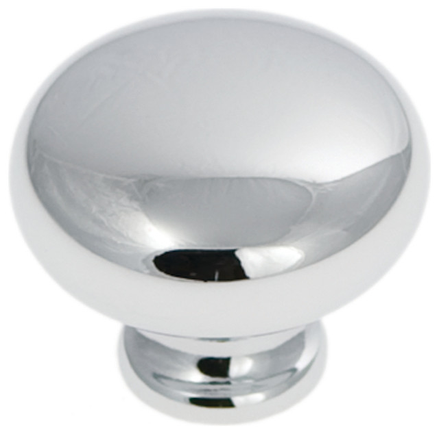 ... Park Towers Chrome Cabinet Knob traditional-cabinet-and-drawer-knobs
