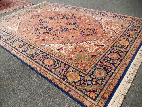 Great Http://www.ebay.com/itm/Large Amazing 10x14 Heriz By Karastan  Carpets 726 Pattern Rug  Superb Condition /322164373122?hashu003ditem4b027e3682:g:7KcAAOSwvg9Xaqmk