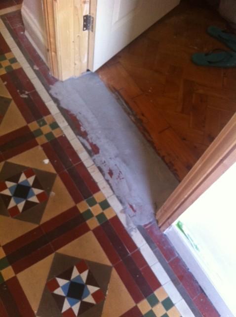 Excellent Victorian Hallway Flooring Dilema Largest Home Design Picture Inspirations Pitcheantrous