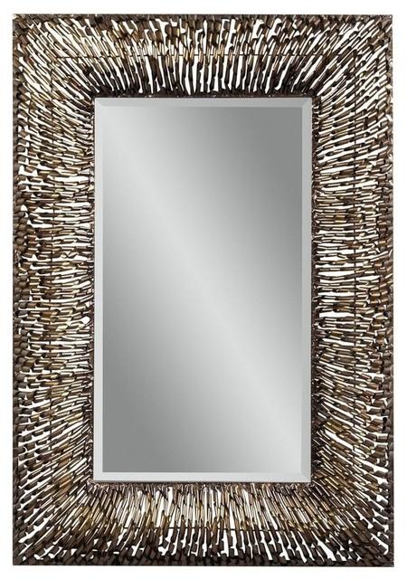 Zola Bathroom Mirrors bassett mirror easy living zola wall mirror in copper
