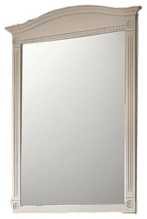 Jsi Wheaton 30 X36 Cream Bathroom Wall Vanity Mirror