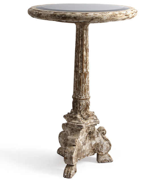 Corinthian Accent Table Traditional Side Tables And