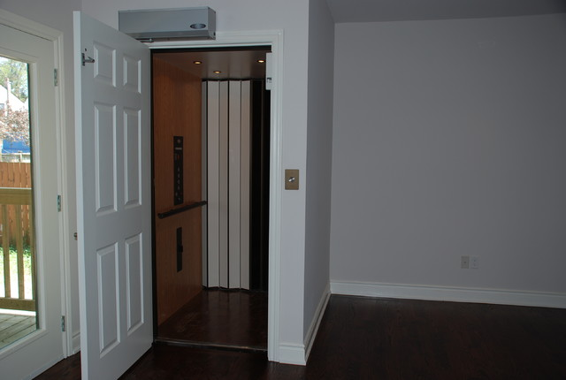4 stop residential elevator traditional toronto by for Wheelchair accessible house plans with elevator