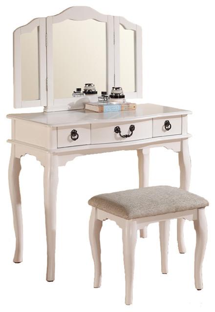 shop houzz adarn enchanting mark up table vanity set tri