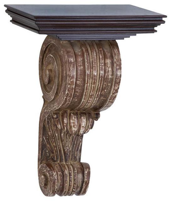 Wood Wall Corbel 18in.H, 13in.W