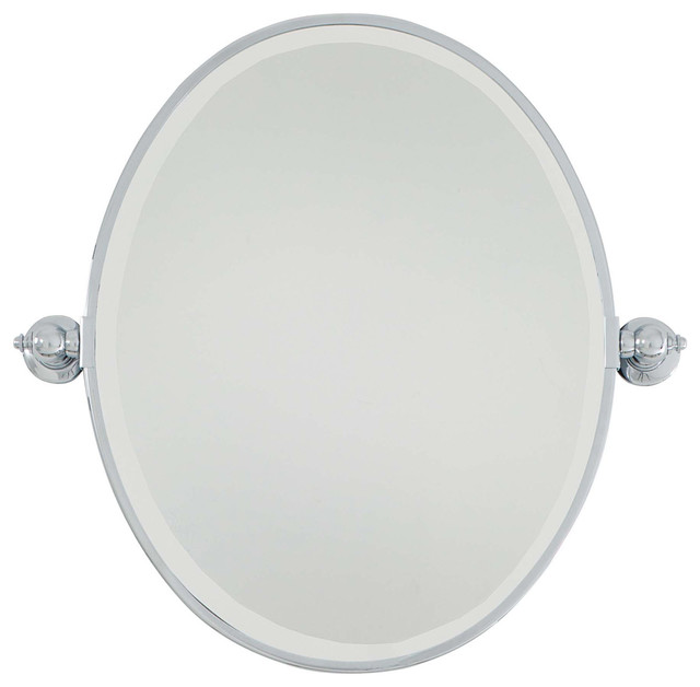 Signature Wall Mirrors, Chrome.