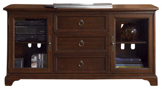 Liberty Beacon Entertainment 64 TV Console, Cherry